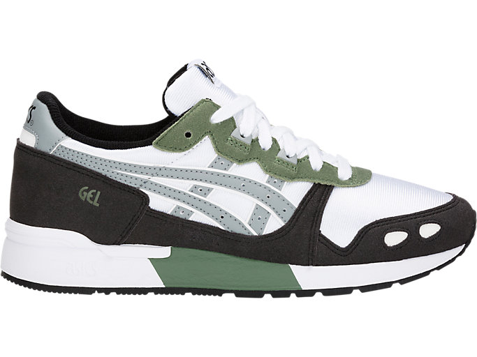 Right side view of GEL-LYTE GS, WHITE/STONE GREY