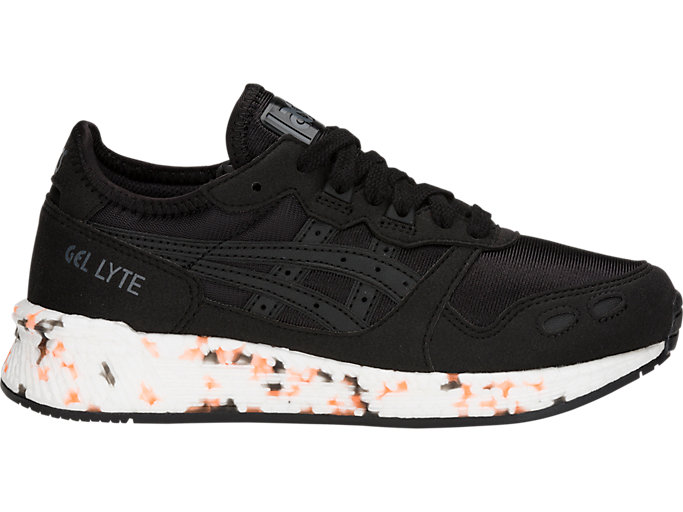 Right side view of HyperGEL-LYTE GS, BLACK/BLACK