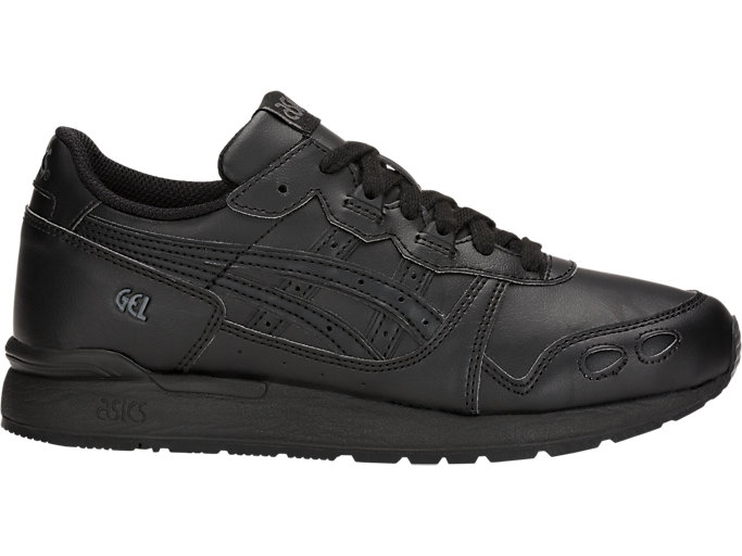 Right side view of GEL-LYTE GS, BLACK/BLACK