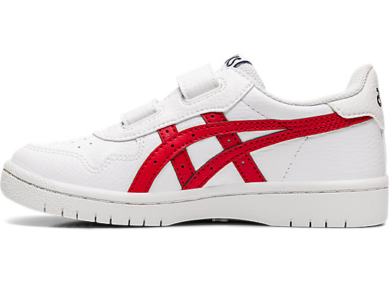 JAPAN S PS WHITE/CLASSIC RED
