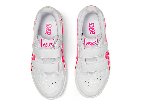 JAPAN S PS WHITE/HOT PINK