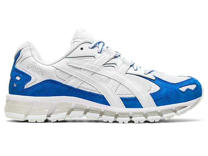 Alternative image view of GEL-KAYANO 5 360, White/Electric Blue