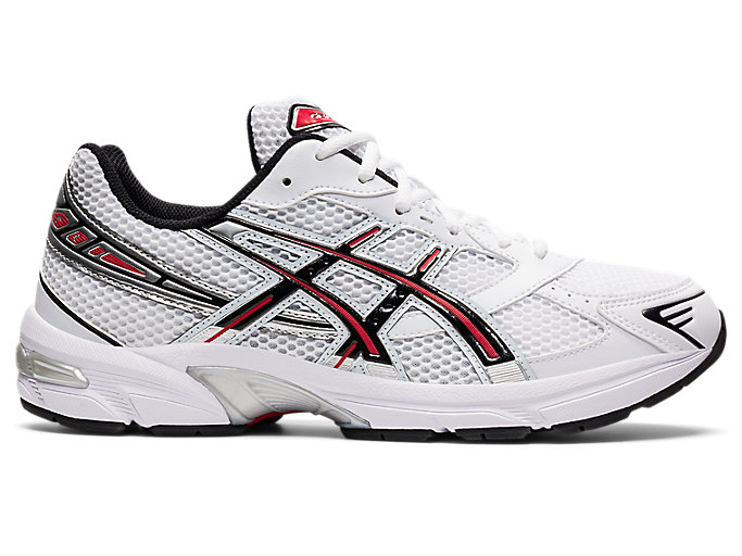 Alternative image view of GEL-1130, White/Electric Red
