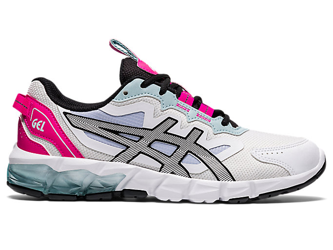 Women's GEL-QUANTUM 90 3 | White/Pink Glo | Sportstyle | ASICS