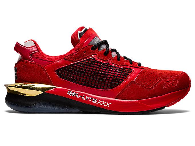 Alternative image view of GEL-LYTE XXX × sneakerwolf, RED/RED