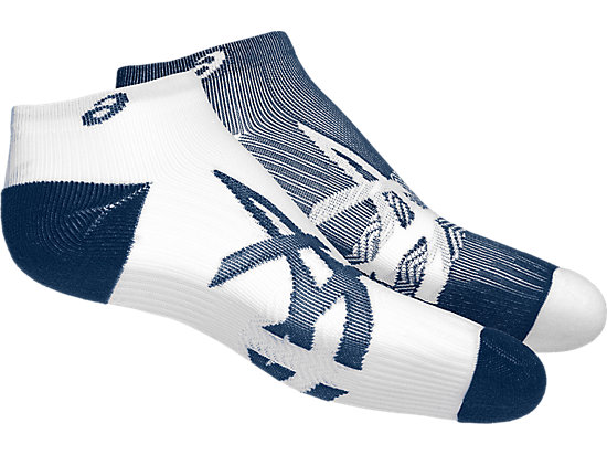 2PPK LIGHTWEIGHT SOCK DARK BLUE/WHITE