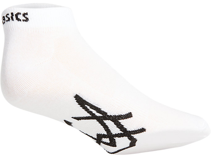 Alternative image view of SPORT 3PPK PED SOCK, Real White