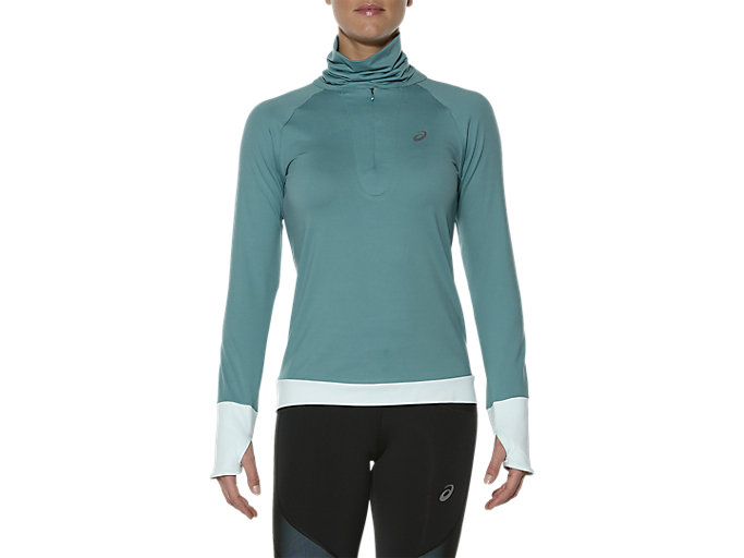 Alternative image view of THERMOPOLIS 1/2 ZIP LS, KINGFISHER