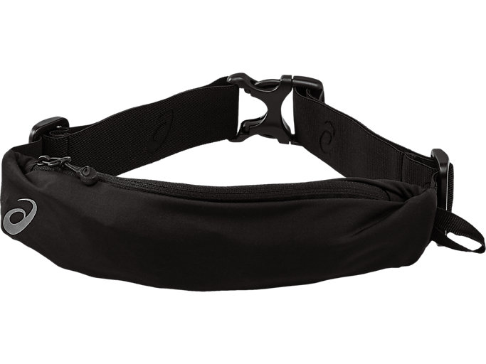 Front Top view of WAISTPACK, PERFORMANCE BLACK