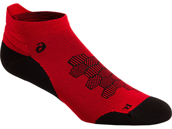 Alternative image view of ROAD NEUTRAL ANKLE SINGLE TAB, CLASSIC RED