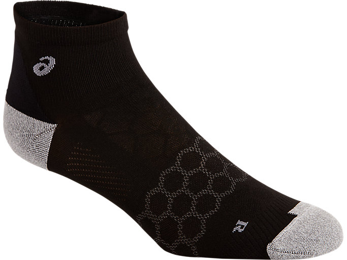 Alternative image view of SPEED SOCK QUARTER, PERFORMANCE BLACK