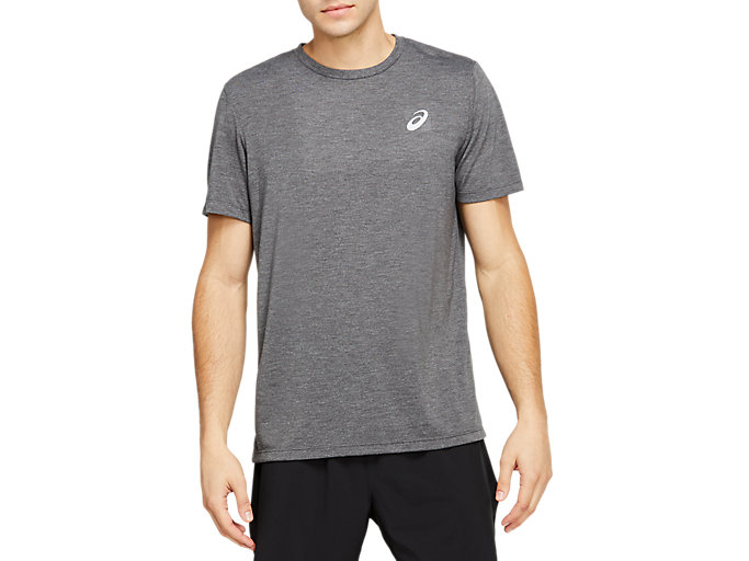 Alternative image view of SPORT TRAIN TOP, Dark Grey Heather