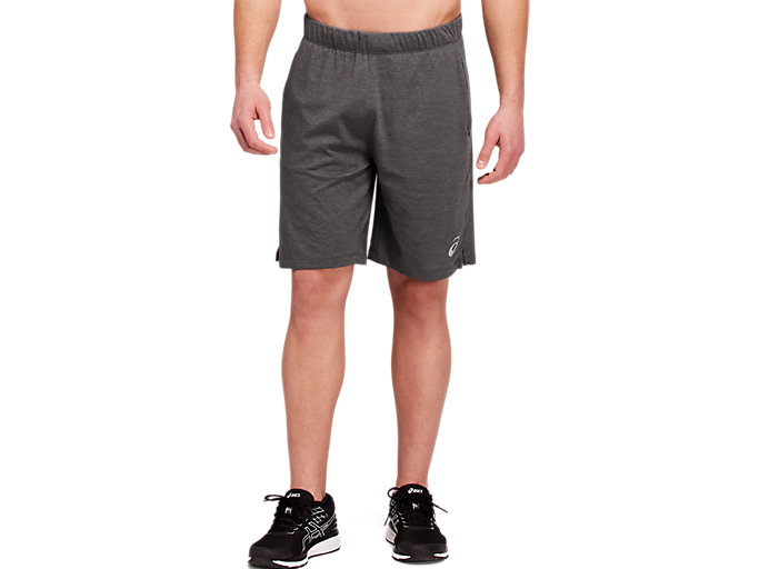 Alternative image view of SPORT TRAINING SHORT, Dark Grey Heather