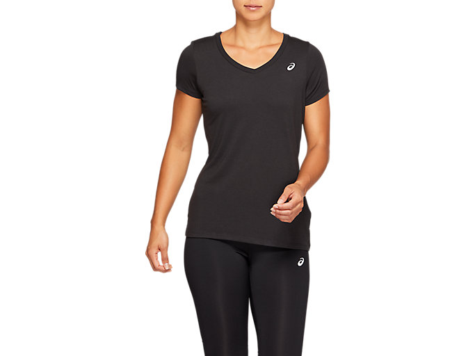 Alternative image view of SPORT TRAIN TOP, PERFORMANCE BLACK