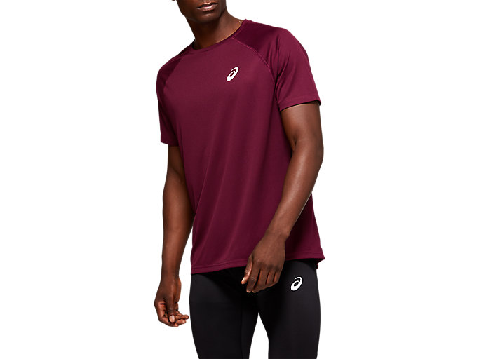 Alternative image view of SPORT RUN TOP, ROSELLE