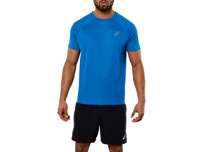 Alternative image view of SPORT RUN TOP, RACE BLUE