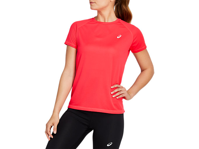 Women's SPORT RUN TOP | LASER PINK | Camisetas de manga ...