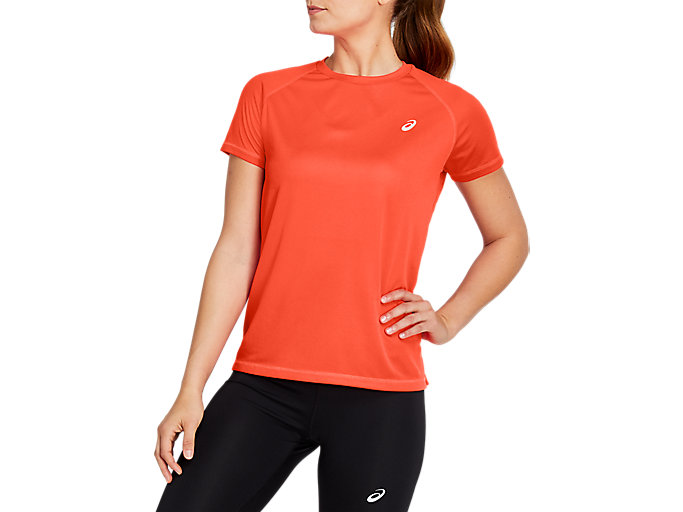 Alternative image view of SPORT RUN TOP, Flash Coral