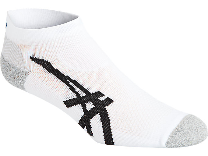 Alternative image view of CUSHIONING PED SOCK, REAL WHITE