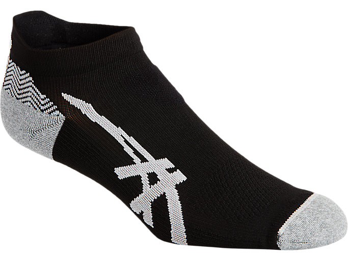 Alternative image view of CUSHIONING PED SOCK, PERFORMANCE BLACK