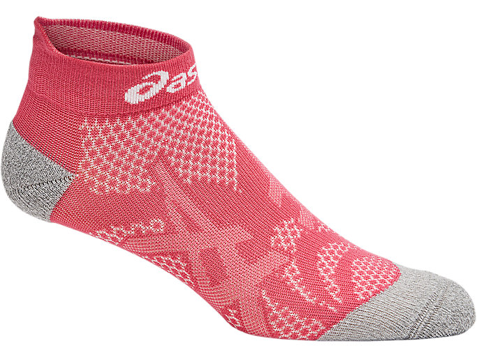 Alternative image view of DISTANCE RUN PED SOCK, Raspberry