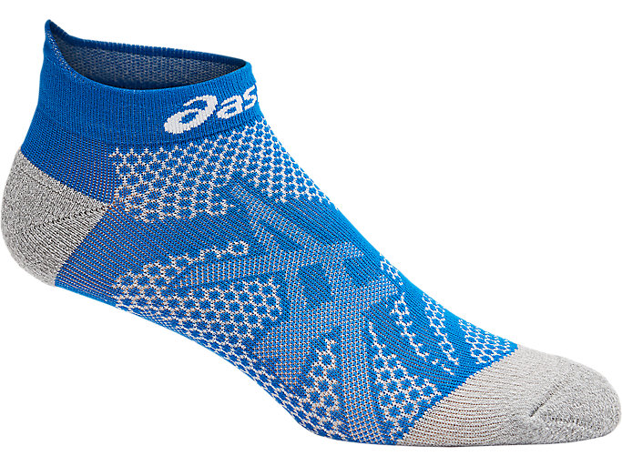 Alternative image view of DISTANCE RUN PED SOCK, RACE BLUE