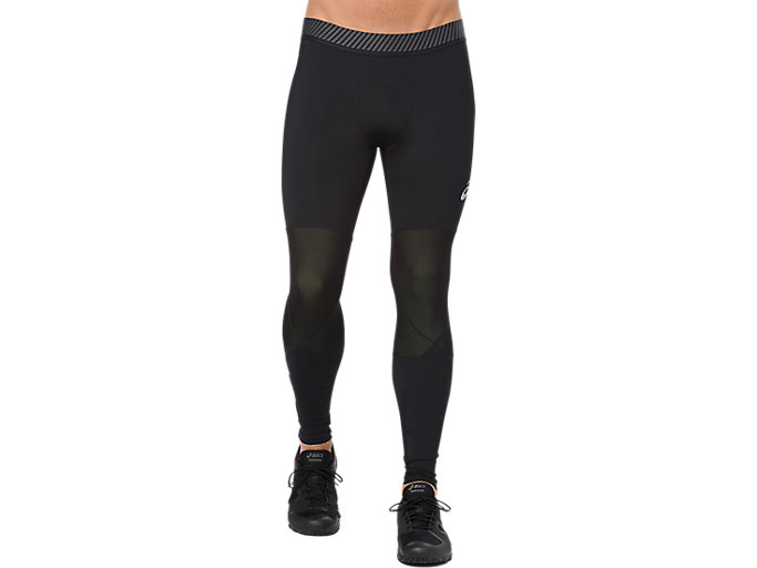 Alternative image view of ASICS BASE LAYER LONG TIGHT, PERFORMANCE BLACK