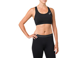 ASICS  Base Layer Med Support Bra Performance Black Mujer Talla L