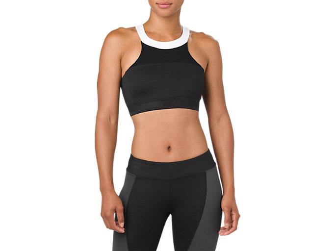 Front Top view of Halterneck Sports Bra