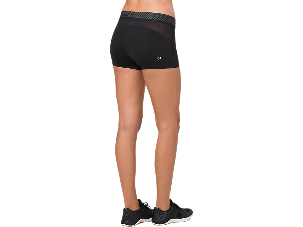 Women's ASICS Base Layer Sprinter 2.5IN   Performance Black ...
