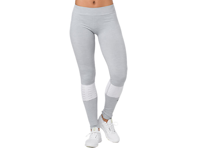Alternative image view of SEAMLESS TIGHT, MID GREY HEATHER