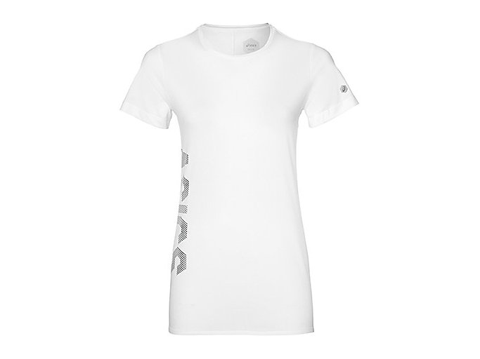 Front Top view of 여성 트레이닝 그래픽 반팔 티셔츠