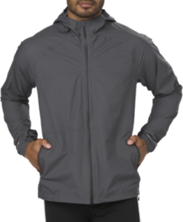 asics waterproof running jacket online