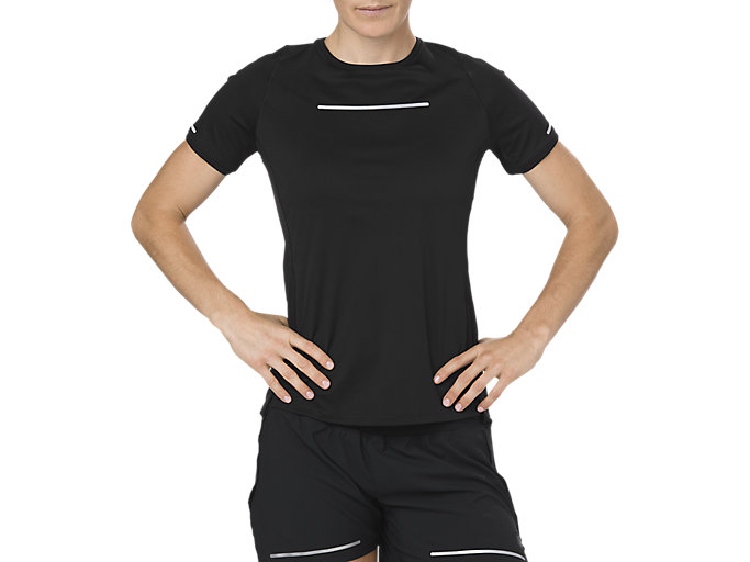 Alternative image view of LITE-SHOW SS TOP, PERFORMANCE BLACK