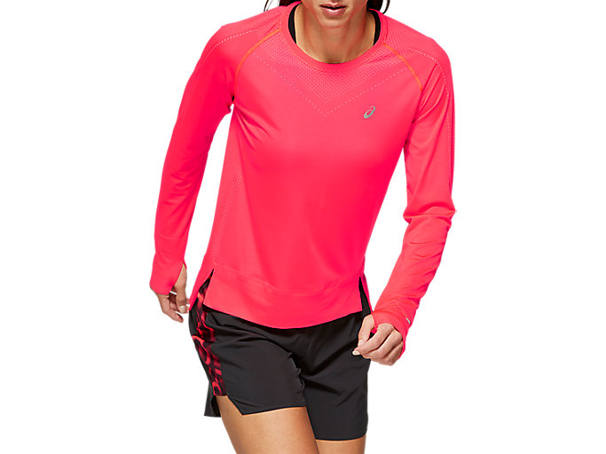 Alternative image view of SEAMLESS LS, LASER PINK