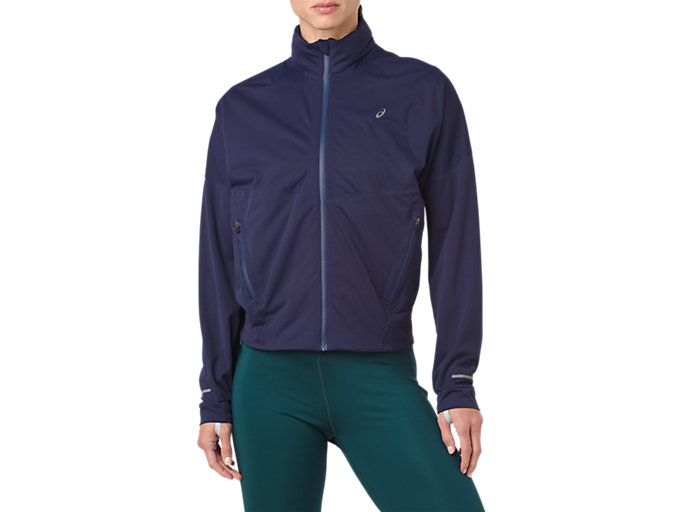 Front Top view of ACCELERATE JACKET, PEACOAT