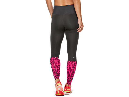HIGHWAIST TIGHT GRAPHITE GREY / HEX TYPE LASER PINK
