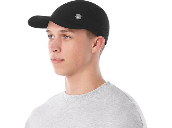 RUNNING CAP PERFORMANCE BLACK