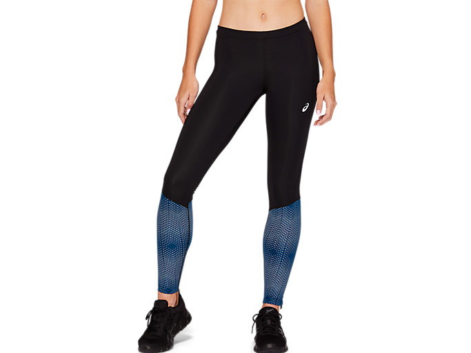 Alternative image view of RACE TIGHT, PERFORMANCE BLACK/MAKO BLUE