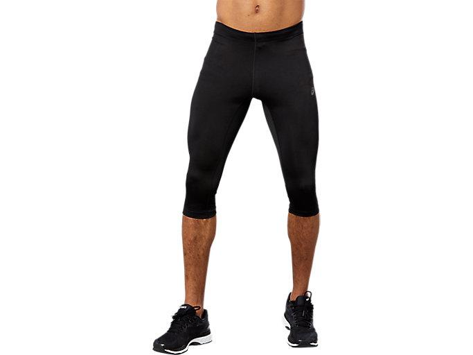 Alternative image view of RUNNING KNEE TIGHT, Performance Black