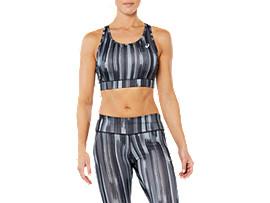 ASICS Sport Sprint Bra Grey Shadow Print Mujer Talla XS