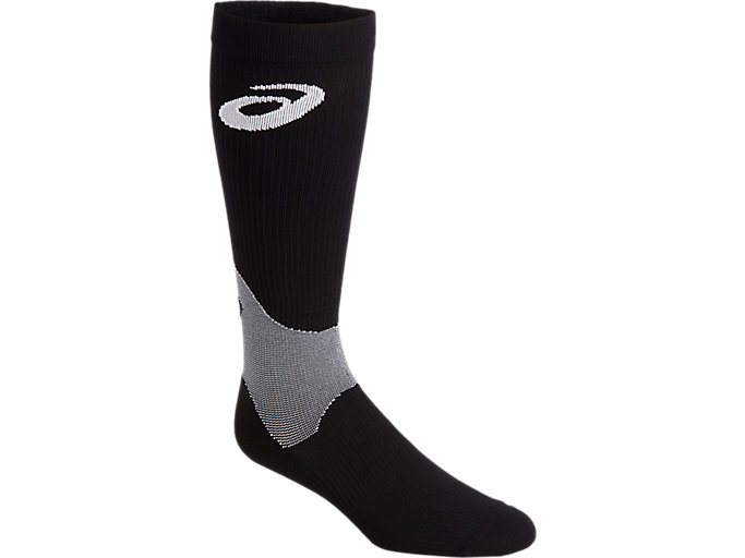 Alternative image view of LB COMPRESSION SOCK, PERFORMANCE BLACK