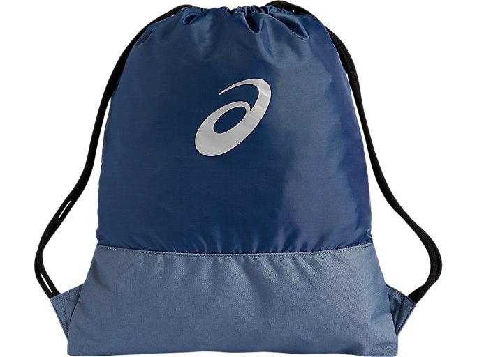 Alternative image view of COLOR BLOCK GYMBAG, GRAND SHARK/STEEL BLUE