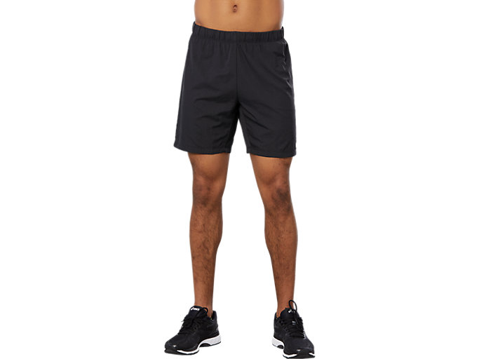 Front Top view of SPORT 2-IN-1 COOL SHORT, PERFORMANCE BLACK