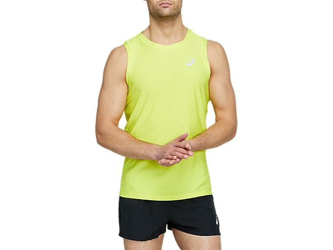 Alternative image view of SPORT SINGLET, SOUR YUZU