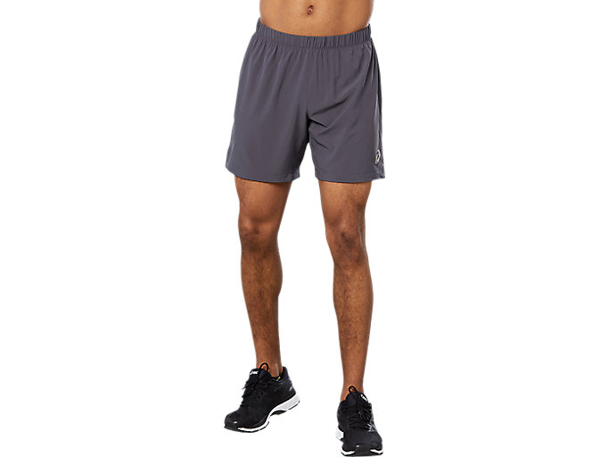 Alternative image view of SPORT WOVEN 2-IN-1 SHORT, Dark Grey