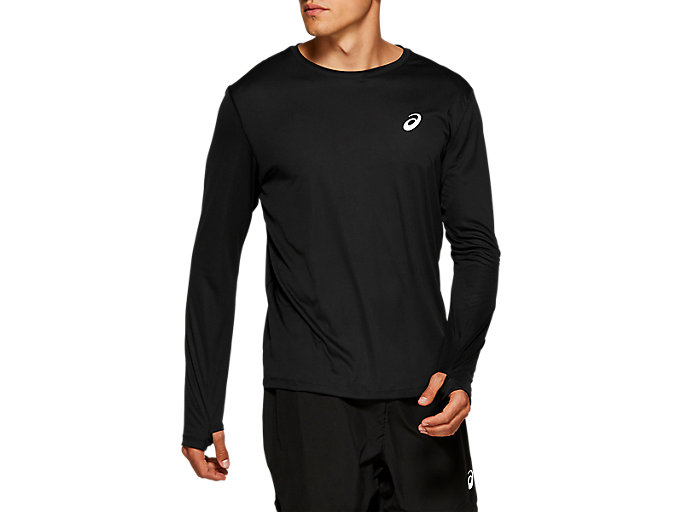 Alternative image view of SILVER LS TOP, PERFORMANCE BLACK