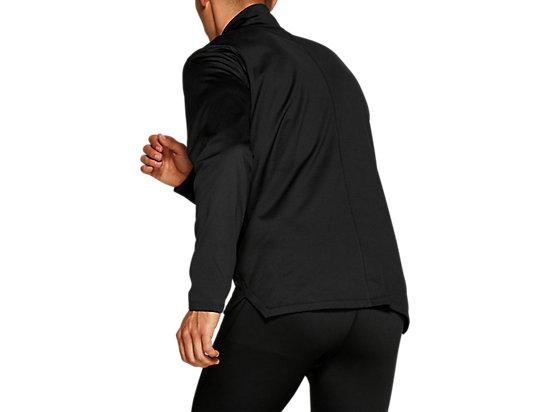 SILVER LS 1/2 ZIP WINTER TOP PERFORMANCE BLACK