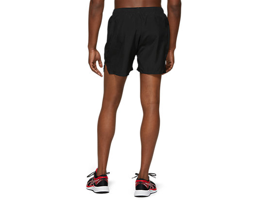 SILVER 5IN SHORT PERFORMANCE BLACK