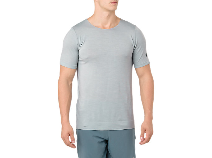 Front Top view of Metarun Short Sleeve T-Shirt